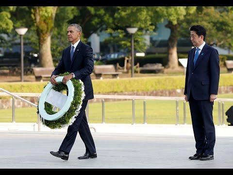 Obama lays wreath at Hiroshima Memorial Peace Park