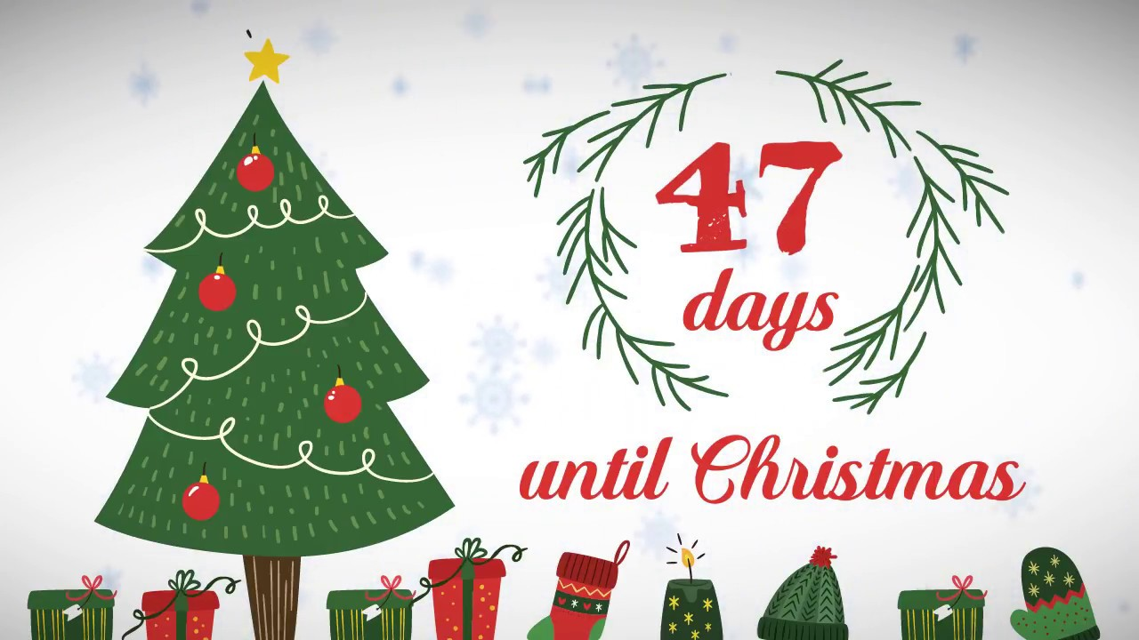 Until Christmas.Xmas Counter Days Until Christmas 47