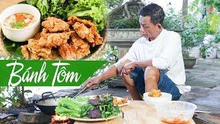 Ông Thọ Làm Bánh Tôm Thơm Ngon, Giòn Rụm Ăn Đã Miệng | Shrimp In Batter