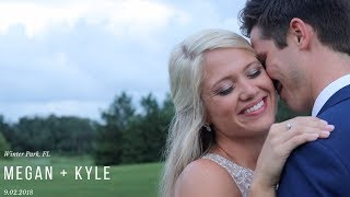 Bride + Groom | Megan + Kyle | Winter Park, FL