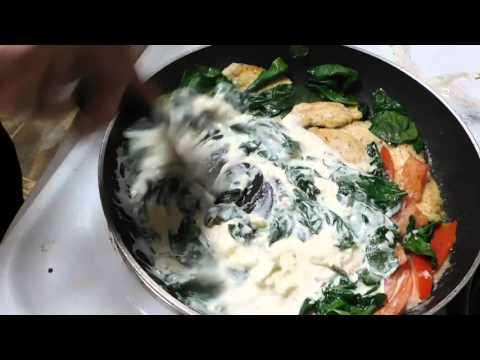 Classic, Chicken, Florentine, Fettuccini, Pasta 2/4