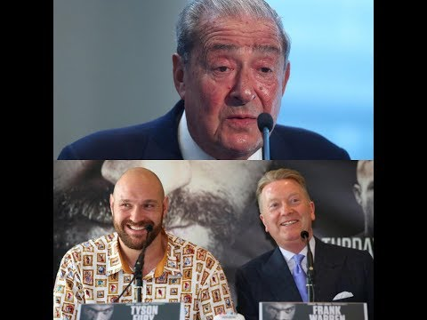 "Bob Arum says ""NOT TRUE"" about Tyson Fury's 80 million £ Deal"