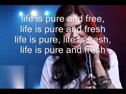 Raisa   Pure Fresh Day (Lyric)