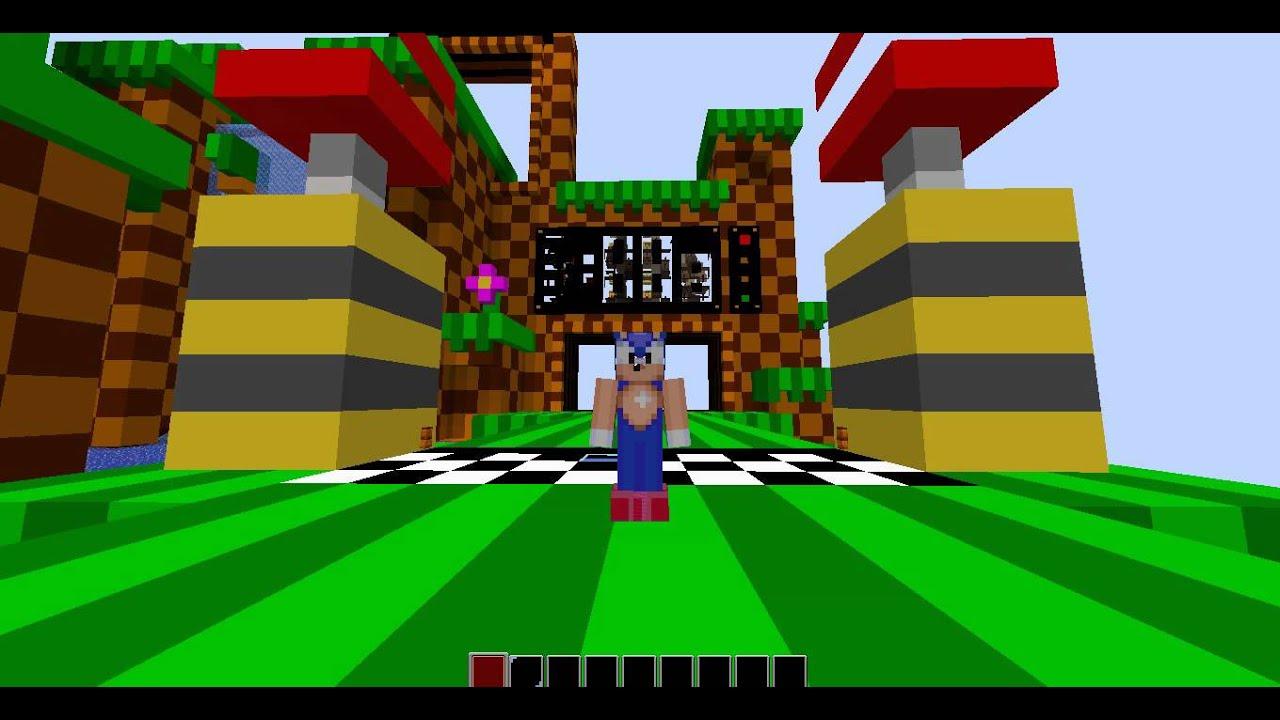 Skin De Sonic The Hedgehog Para Minecraft Descarga YouTube - Descargar skins para minecraft youtube