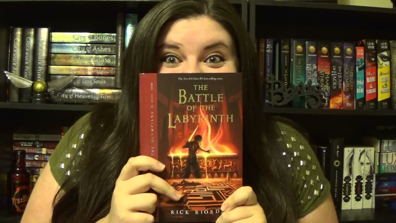 The Battle of the Labyrinth (Percy Jackson & the Olympians) Book ...
