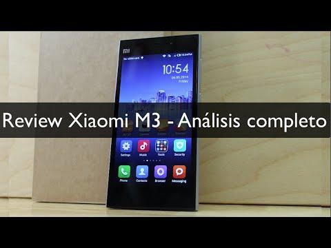 Review Xiaomi Mi3  - Análisis completo