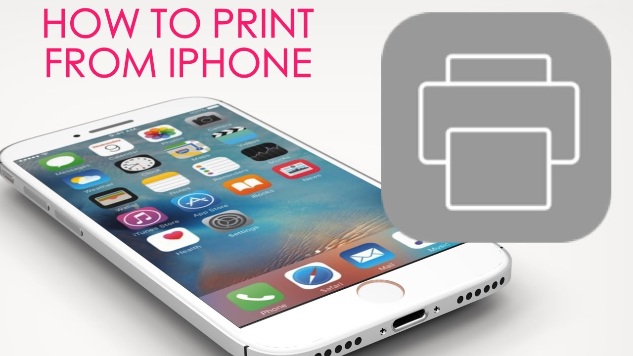 how to find printer on ipad