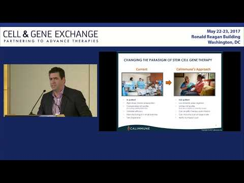 Cell & Gene Exchange, May 2017: Calimmune, Inc.