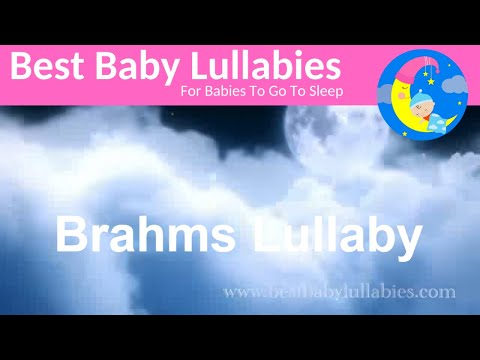 ♫♫ 2 HOURS BRAHMS LULLABY ♫♫ BABY MUSIC LYRICS  LULLABIES  BABIES TODDLERS RELAXING MUSIC BEDTIME