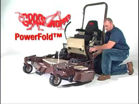 PowerFold® Electric Deck Lift | Grasshopper Mowers