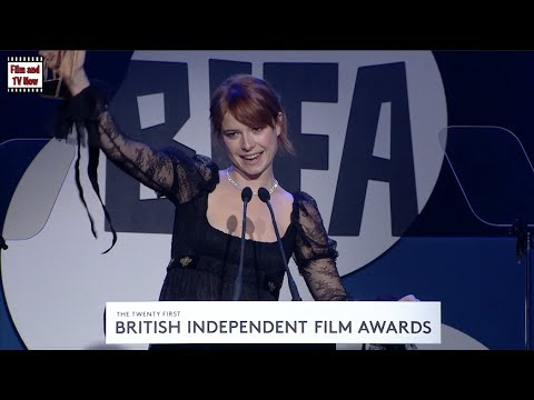 Jessie Buckley BIFA 2018 Awards Most Promising Newcomer speech