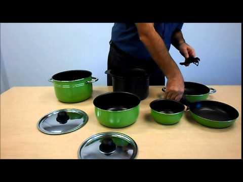 space saving caravan cookware youtube. Black Bedroom Furniture Sets. Home Design Ideas