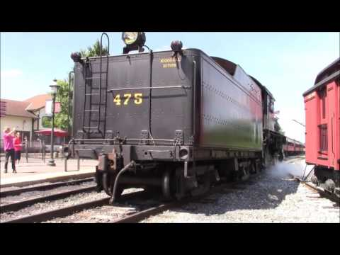 Living History - Two Steam Locomotives Meet on the Strasburg Railroad