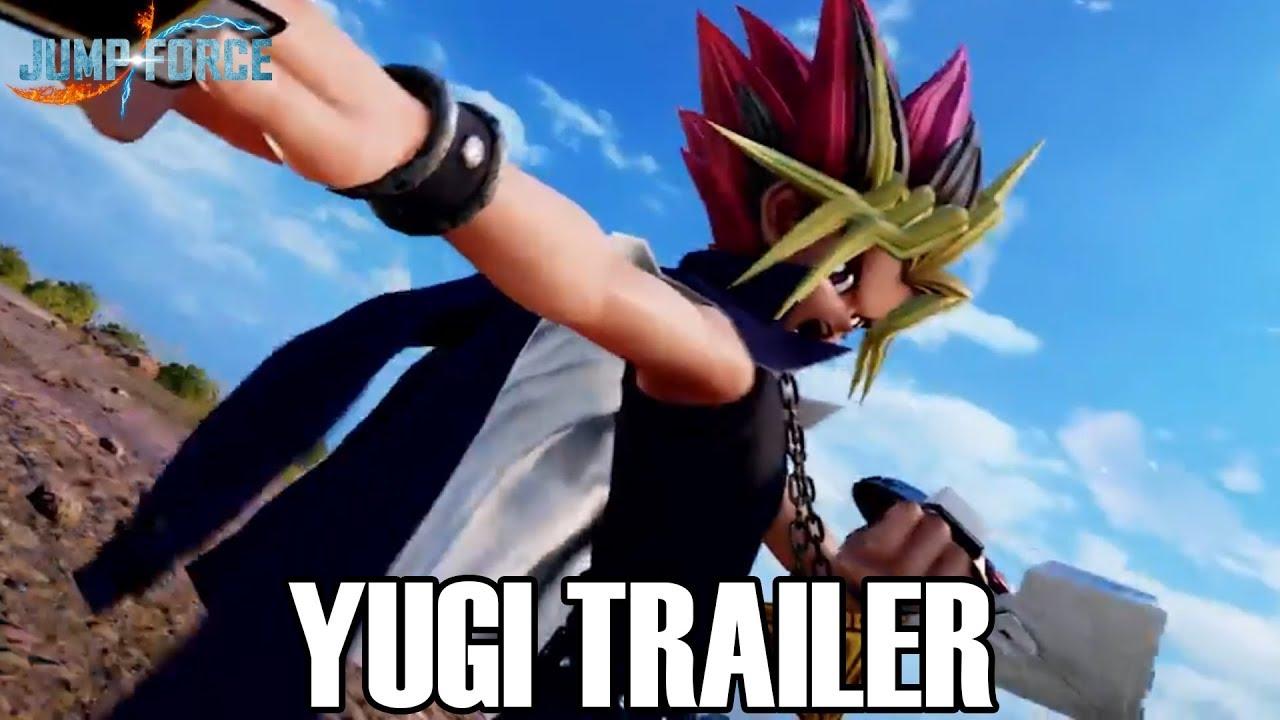 BRAND NEW YUGI GAMEPLAY!!! Jump Force NYCC Gameplay Trailer!
