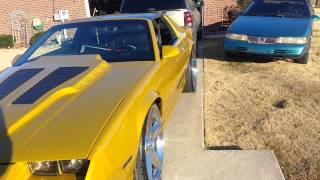 Repeat youtube video Gold iroc z28 on 24s