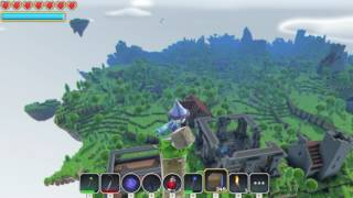 Portal Knights world size example