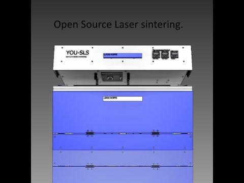 You SLS. Open Source SLS 3d printer