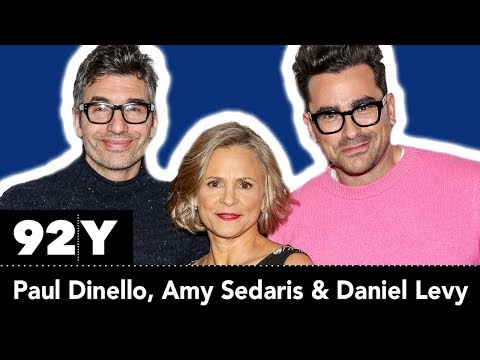 Amy Sedaris And Paul Dinello With Daniel Levy