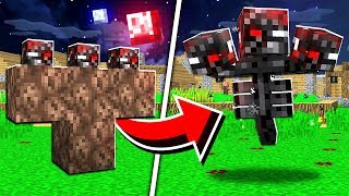 How to Spawn the CURSED WITHER in Minecraft! (Scary Survival EP73)
