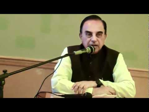 Part 2/7 - Current Political Situation In India - Subramanian Swamy in New Jersey