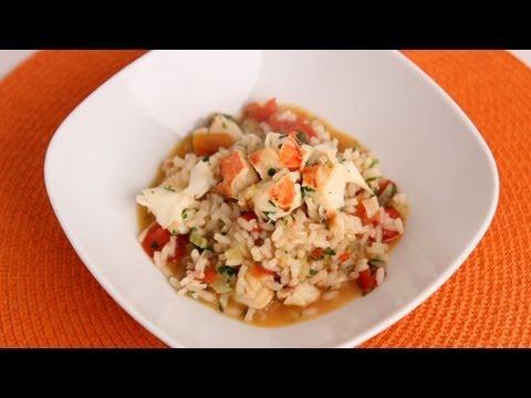 Lobster Risotto Recipe - Laura Vitale - Laura in the Kitchen Episode 536