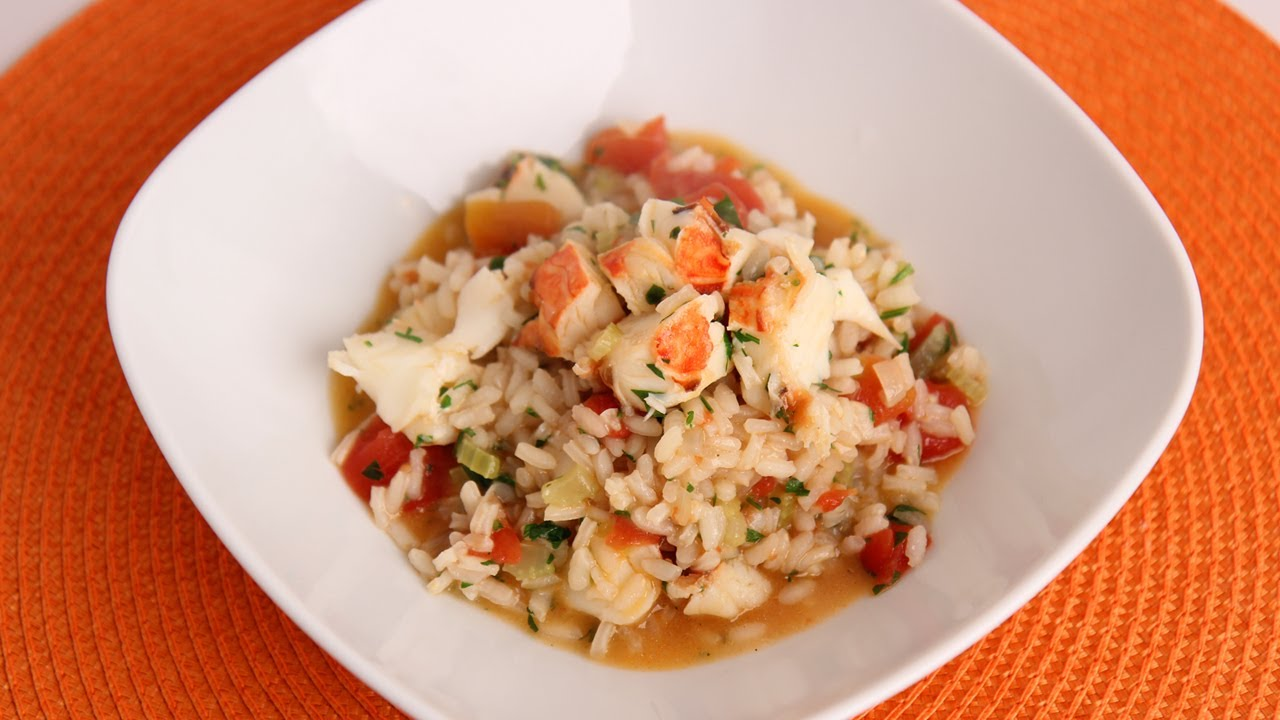 Lobster Risotto Recipe - Laura Vitale - Laura in the Kitchen Episode ...