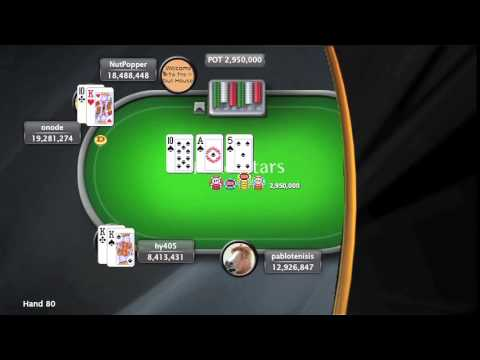 Sunday Million 3/5/15 - Online Poker Show - PokerStars - 동영상