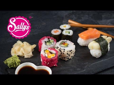 Sushi Basics / Maki, Inside Out & Nigiri – Sushi Reis & Ingwer / Sallys Welt
