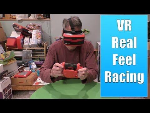 VR Real Feel Racing Review, Virtual Reality Car Racing Game