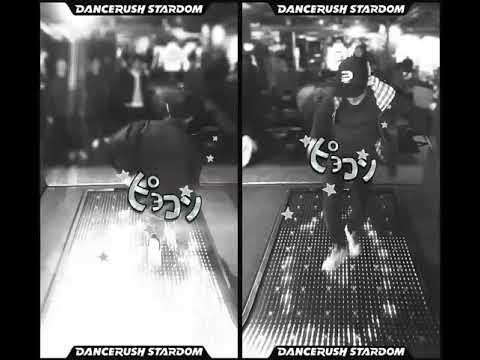「smooooch・∀・ / kors k」DnB Stepで2人プレイ! #DANCERUSH_STARDOM