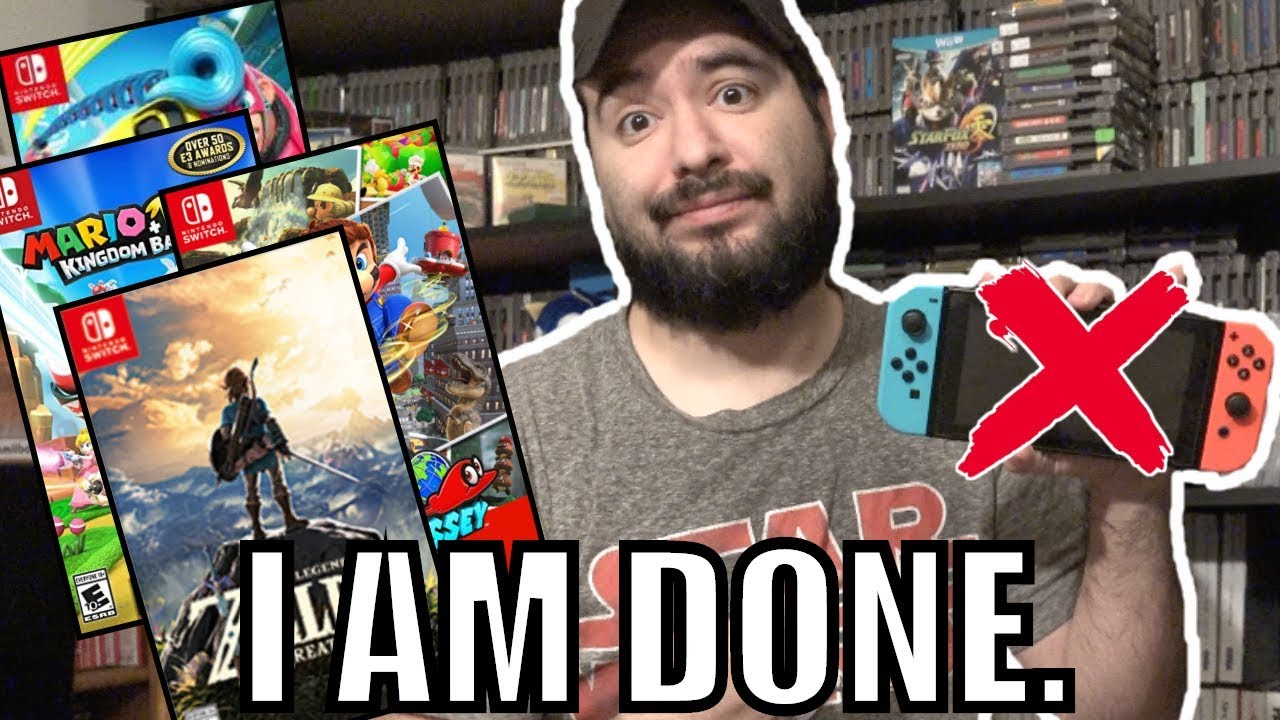 After this, I'm NEVER Buying A Nintendo Switch Game again! | 8-Bit Eric