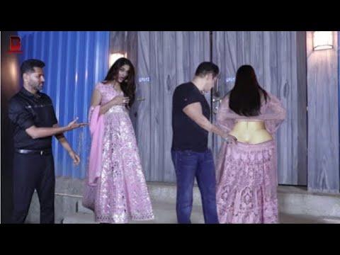 Download Salman Khan, Sonakshi, Saiee Manjrekar Arrives At Bigg Boss 13 Set For Promotion Of DABANG3 Movie
