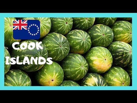 COOK ISLANDS, the spectacular FARMERS MARKET in RAROTONGA (Punanga Nui Market )