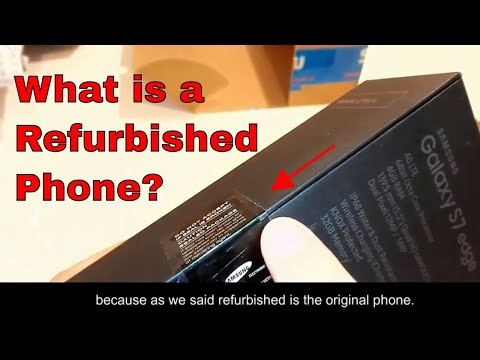 What is a Refurbished Phone and Why Should You Care? Example on the Refurbished Phone