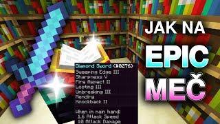 Jak na EPIC meč v Minecraftu, bez cheatů | Gala (CZ/SK)