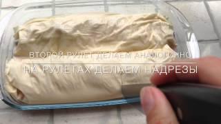 Готовим с Залесским фермером: Вишневый пирог из теста фило(description., 2014-07-23T17:19:15.000Z)