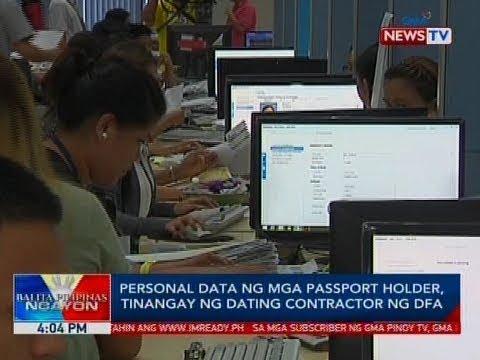 BP: Personal Data Ng Mga Passport Holder, Tinangay Ng Dating Contractor Ng DFA