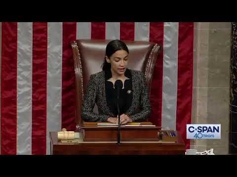 WATCH: AOC presides over House of Representatives and recognizes Texas conservative