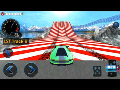 Impossible Car Crash Stunts Car Racing Game / Android Gameplay Video #2