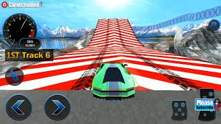 Impossible Car Crash Stunts Car Racing Game / Android Gameplay Video #2