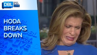 "Gambar cover Hoda Kotb Cries On ""TODAY"" After Interviewing New Orleans Saints' Drew Brees"