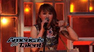 "Livy, Matt, & Sammy: Trio Performs Acoustic ""Fat Bottomed Girls"" Cover - America's Got Talent 2014"