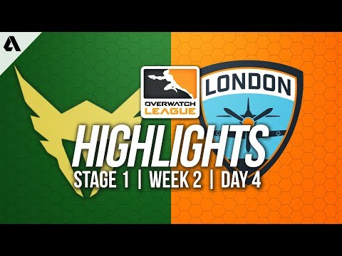 Los Angeles Valiant vs London Spitfire ft  Birdring | Overwatch League Highlights OWL Week 2 Day 4