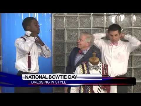 Good Day Columbia celebrates National Bow Tie Day - YouTube
