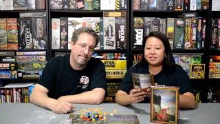 Unboxing of Cambria by Closet Nerd Games