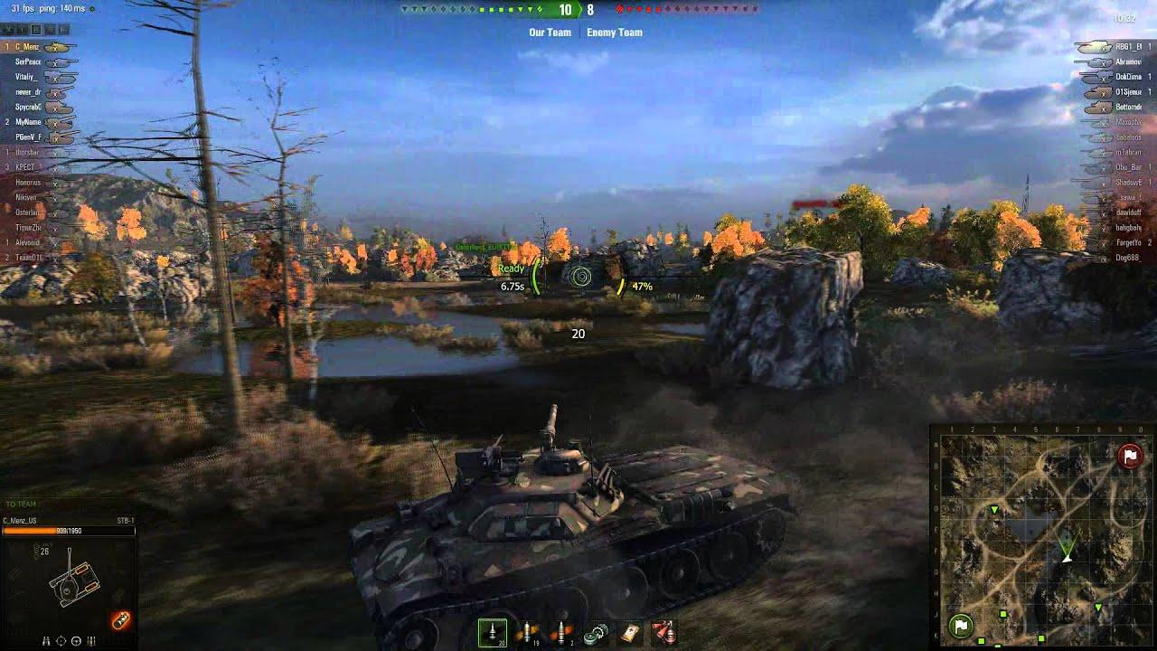World of Tanks Matchmaking 8.10