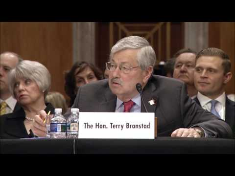 Senator Markey Questions Gov. Branstad, Nominee to be Ambassador to China - May 2, 2017