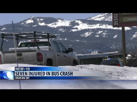 Seven injured in Big Sky bus crash
