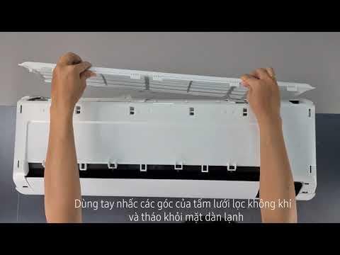 Hướng dẫn vệ sinh máy điều hòa Samsung Digital Inverter Wind-Free| Chế độ vệ sinh tự động Auto Clean