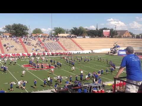1st Game Halftime Show, Saturday 8/30/14, Mustang Bowl, Sweetwater, TX